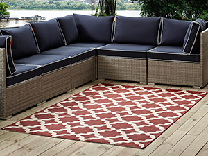 Amazon.com: Modway Lilja Distressed Vintage Persian ...