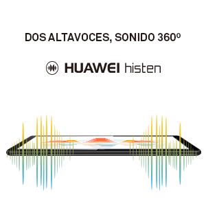 Dos altavoces, sonido inmersivo: Los altavoces duales producen audio de alta calidad