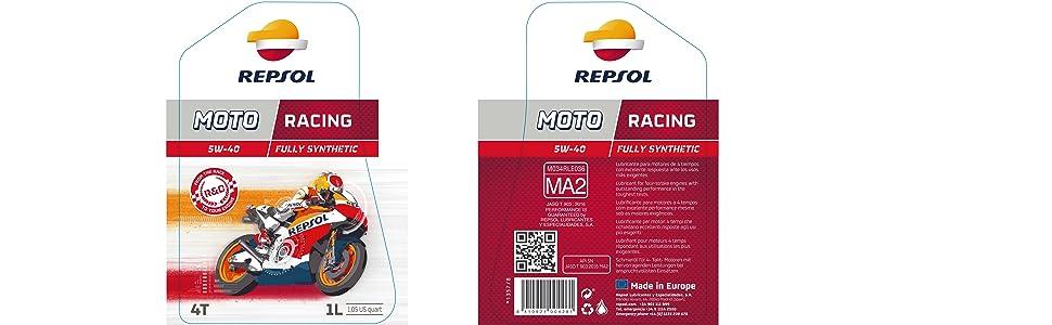 REPSOL MOTO RACING 4T 5W-40