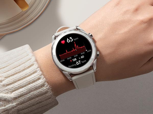 Huawei Watch GT - Smartwatch con Caja de 42 mm de Metal, Pantalla Táctil AMOLED de 1.2