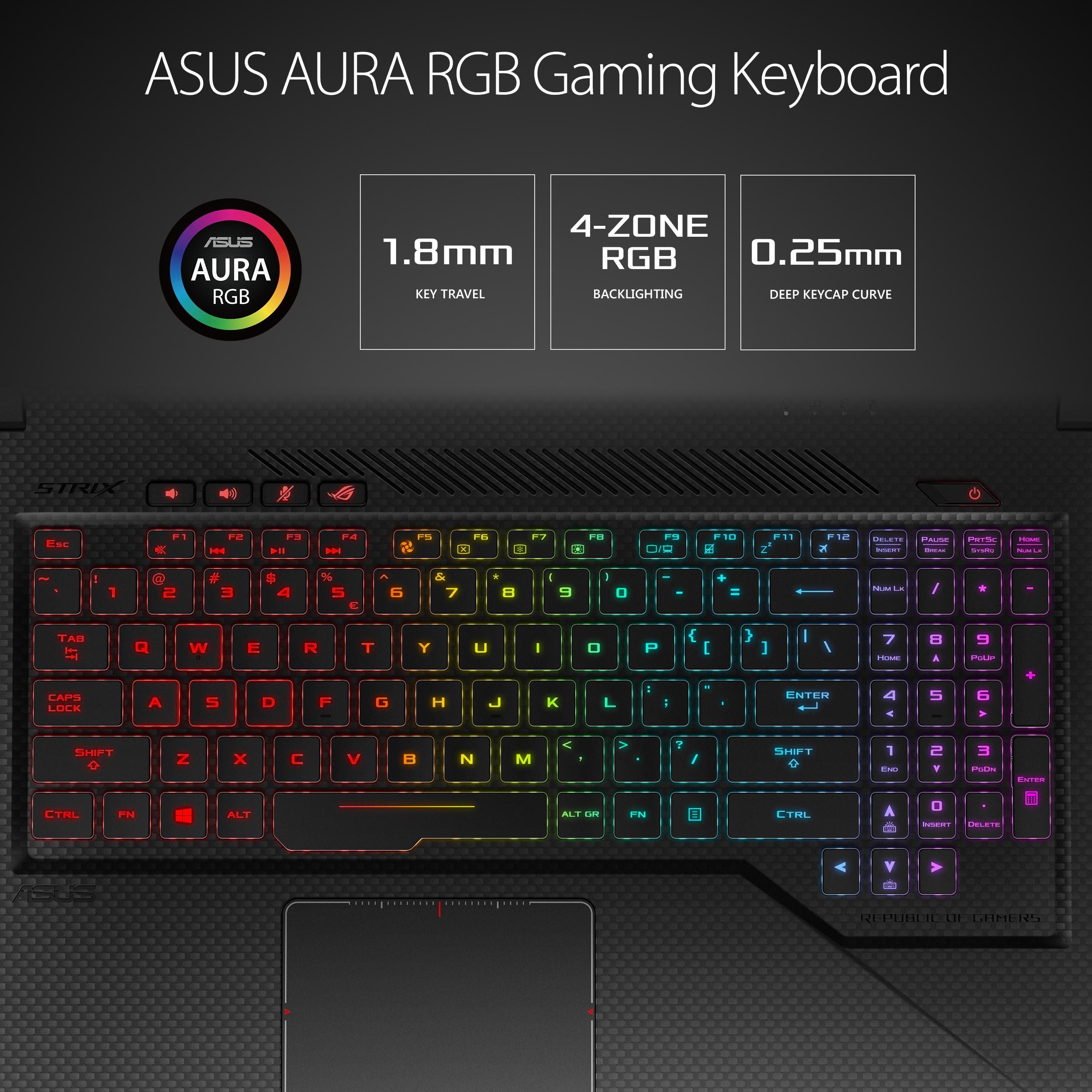 Asus Rog Strix Gl703vm Gaming Laptop Gadgitechstore Com
