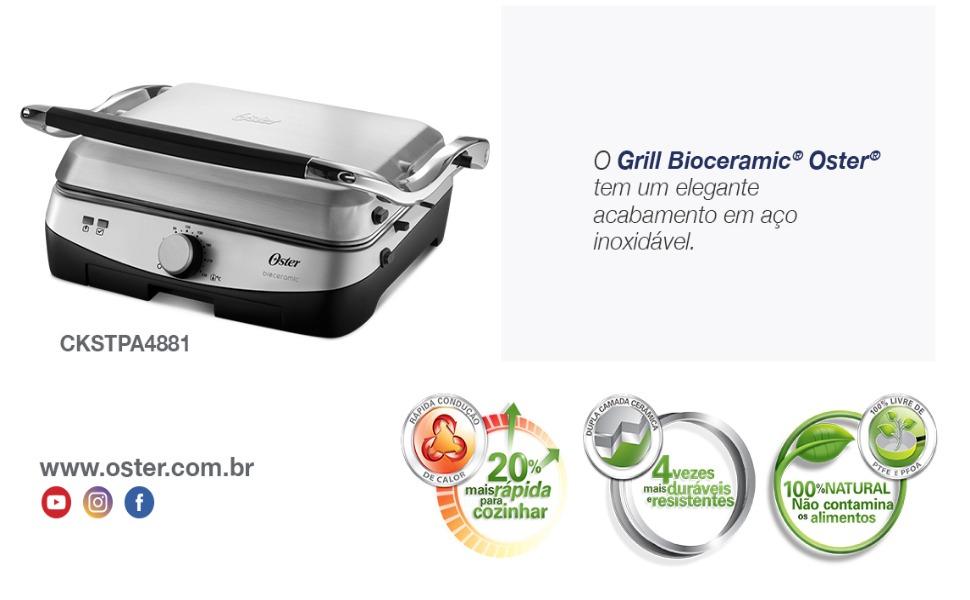 Grill Bioceramic Oster