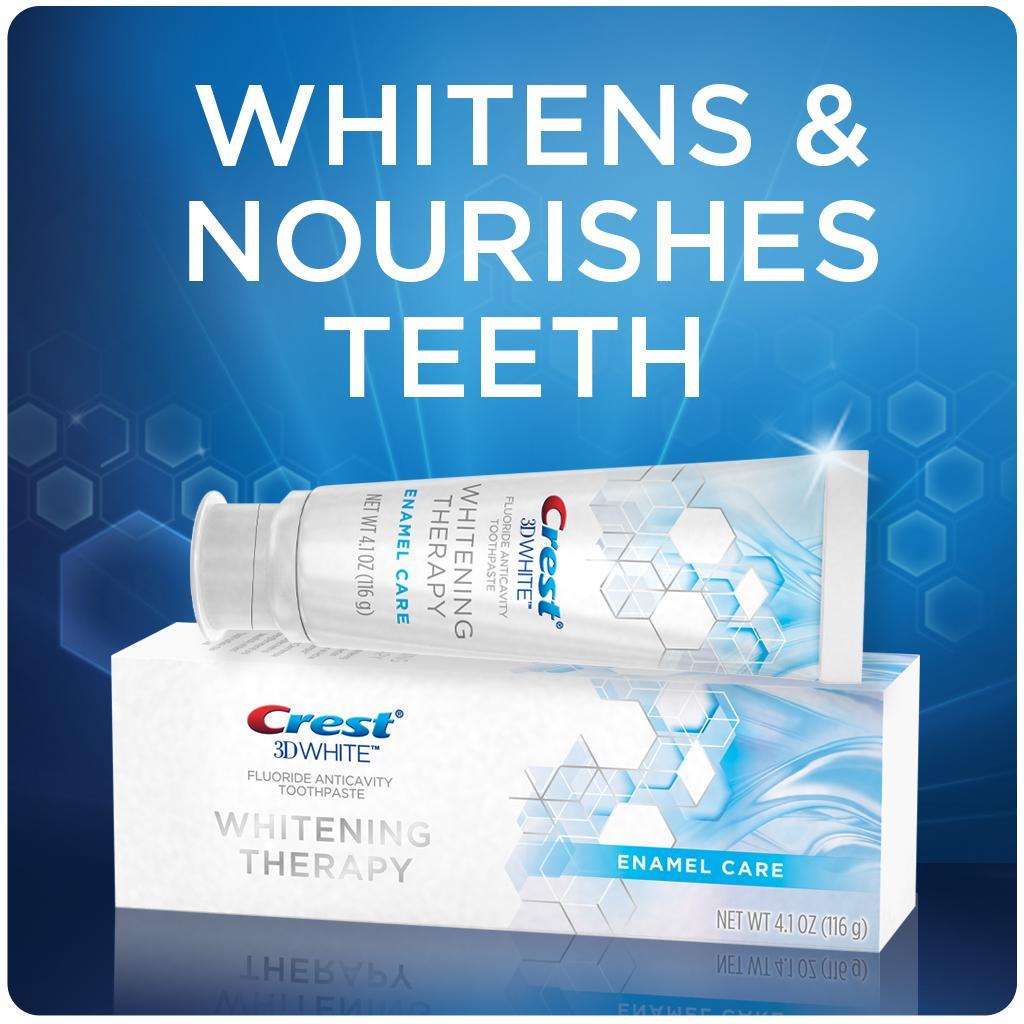 Amazon.com : Crest 3D White Whitening Therapy Enamel Care