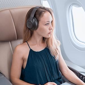 TaoTronics SoundSurge 55 Headphones Travel Mode