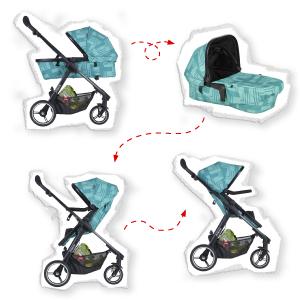 modular compact stroller