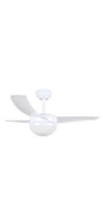 Orbegozo CP 88105 Ventilador de Techo con Mando a Distancia y luz ...