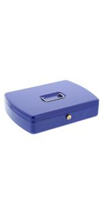 BURG-W/ÄCHTER Kinder-Geldkassette mit M/ünzeinwurfschlitz Messingstift-Zylinder farblich sortiert Office 2127