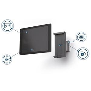 Durable 893323 Tablet Wandhalterung (für Tablets, 7-13 ...