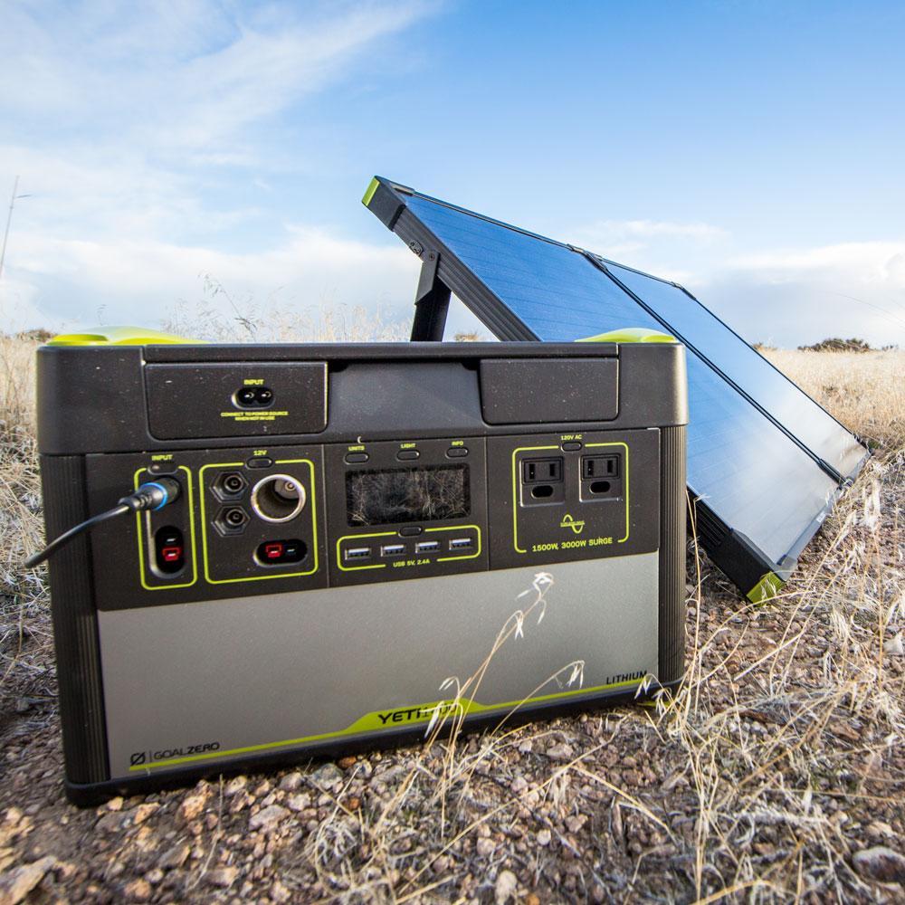 Amazon Com Goal Zero Yeti 1400 Lithium Portable Power