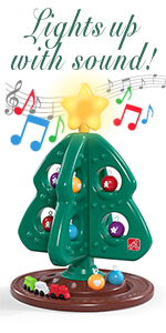 Amazon.com: Step2 My First Christmas Tree with Bonus ...