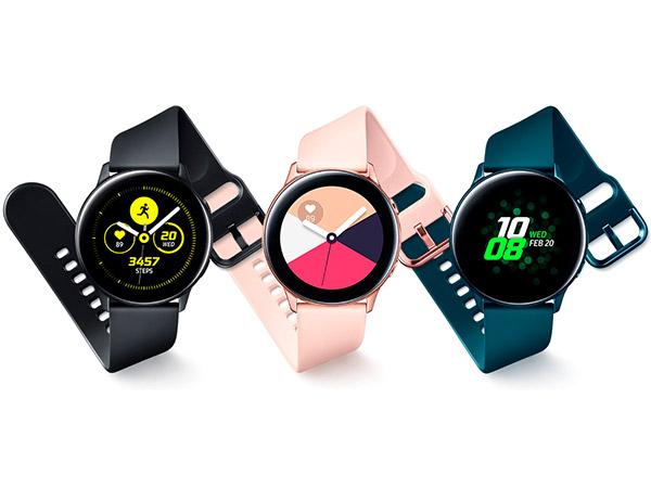 Galaxy Watch Active negro, rosa, verde expertos en electrodomesticos