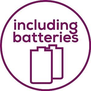 Inklusive Batterien