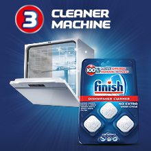 Dishwasher Cleaner remove hidden grease grime help maintain hidden machine part Pouches clean dishes
