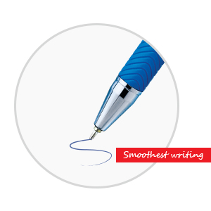 Cello Butterflow Ball Pen   Smoothest Writing Pen   Blue pens