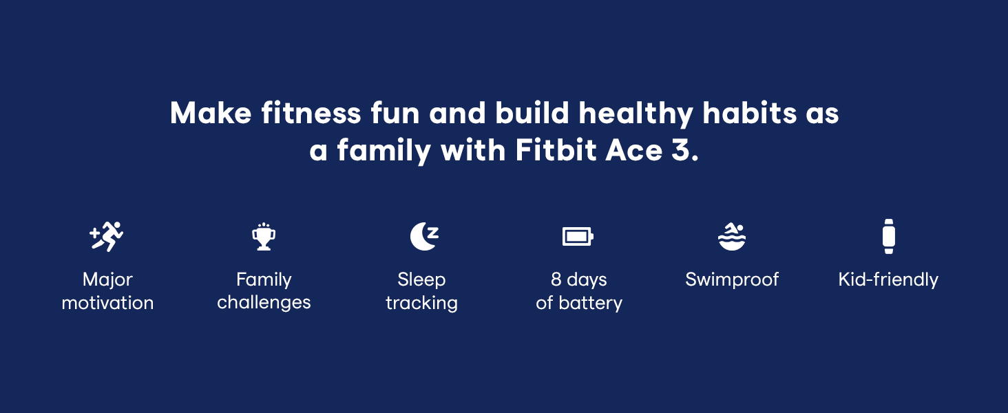 Fitbit Ace 3 Features