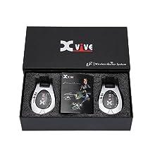 X-Vive U2 - Sistema inalámbrico de guitarra, color cromado