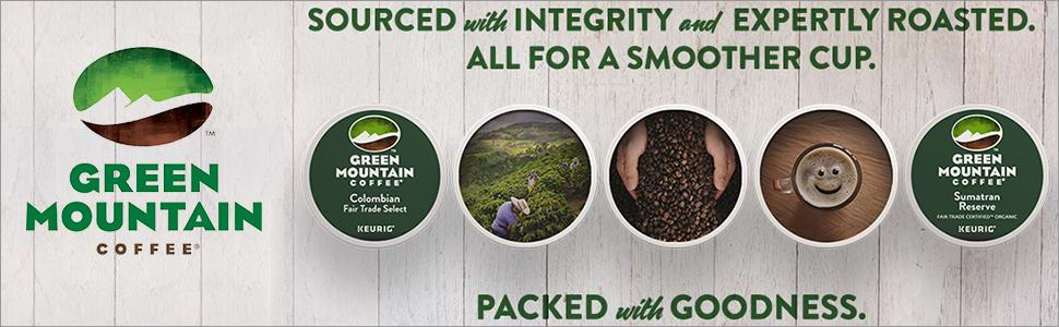 Green Mountain Coffee, single-serve, Keurig, K-Cup, pods, kcup, k cup, San Francisco Bay, OneCup