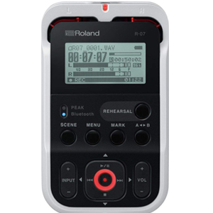 recorder, roland, portable, audio, ios, wireless, stylish, record, recording, instrument, music
