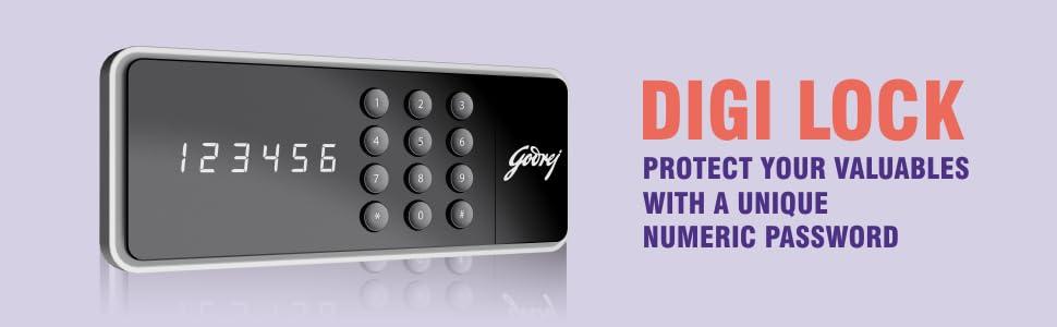Forte Pro Digital 25L - Digital Lock