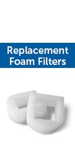 pump replacement foam filters