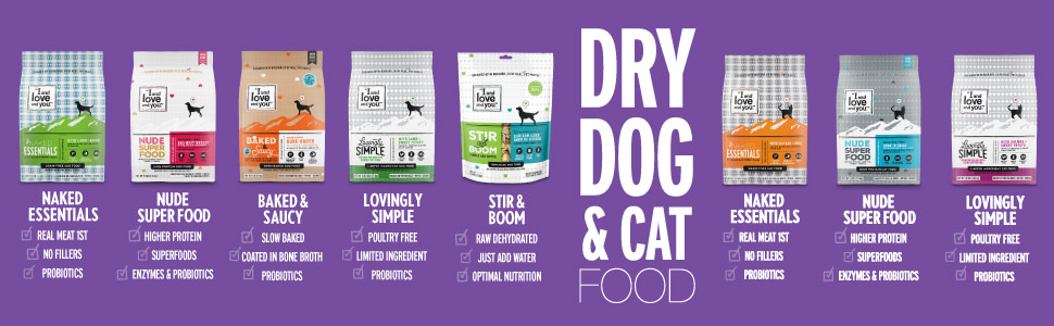 Dry Dog and Cat food