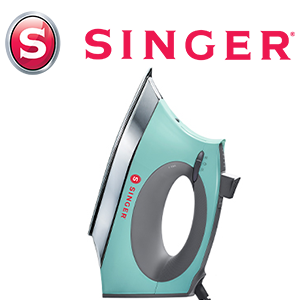 1750 Watts SINGER Mint SteamCraft Plus Iron with OnPoint Tip 300ml Tank Capacity