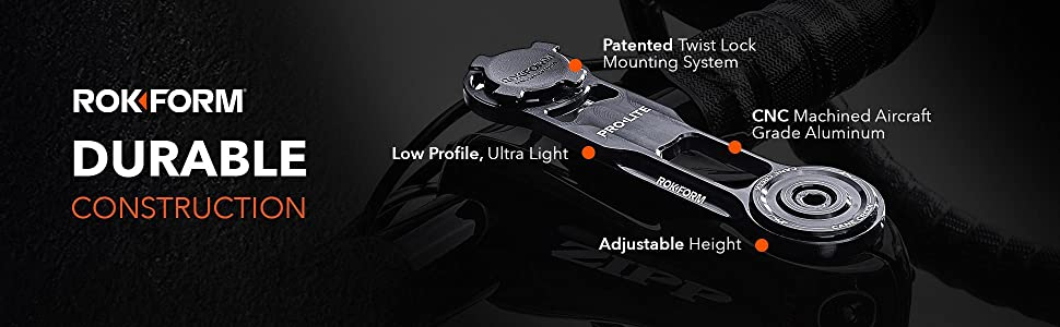 Rokform Pro-Lite bike mount for phone