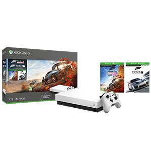 Xbox One X white edition