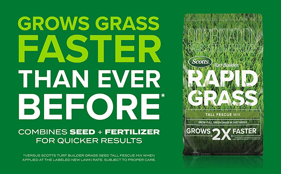 Scotts Turf Builder Rapid Grass Tall Fescue Mix