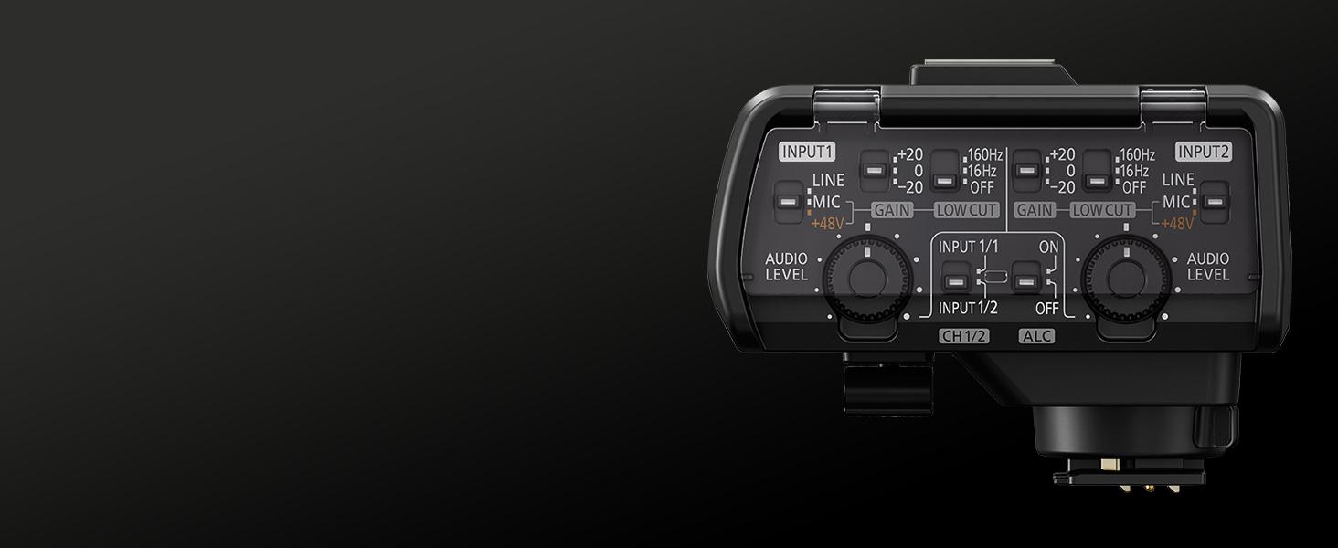 Panasonic Lumix S1 S1BODY S1MK XLR Microphone Adaptor DMW-XLR1