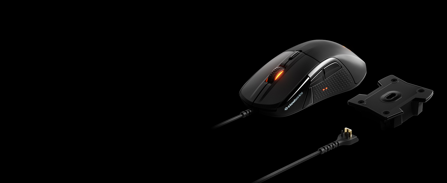 - Rival 710 with swappable cable and sensor