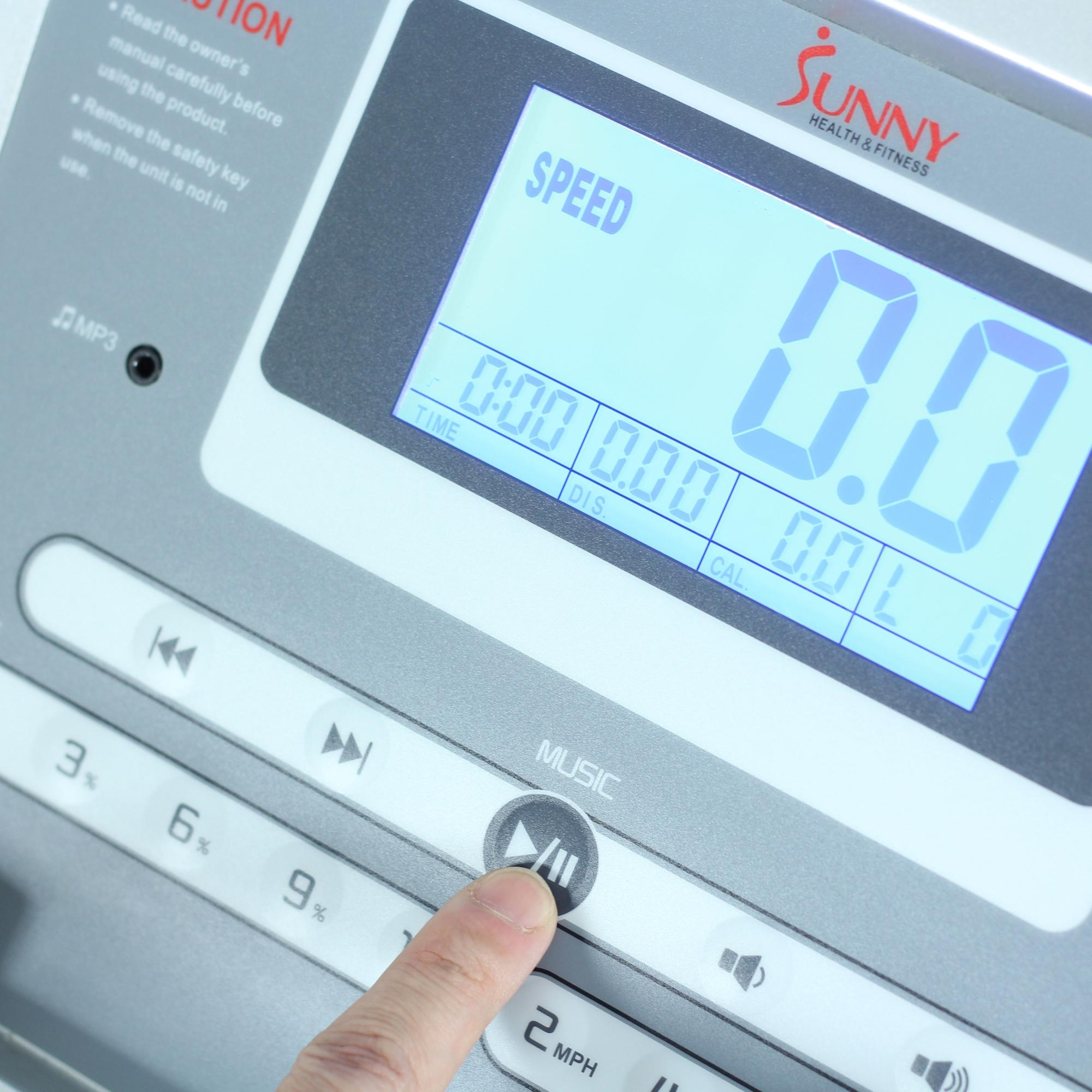 Life Fitness Treadmill Heart Rate Chart: Amazon.com : Sunny Health & Fitness SF-T7515 Smart