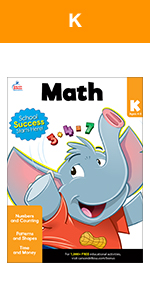 brighter child kindergarten math workbook