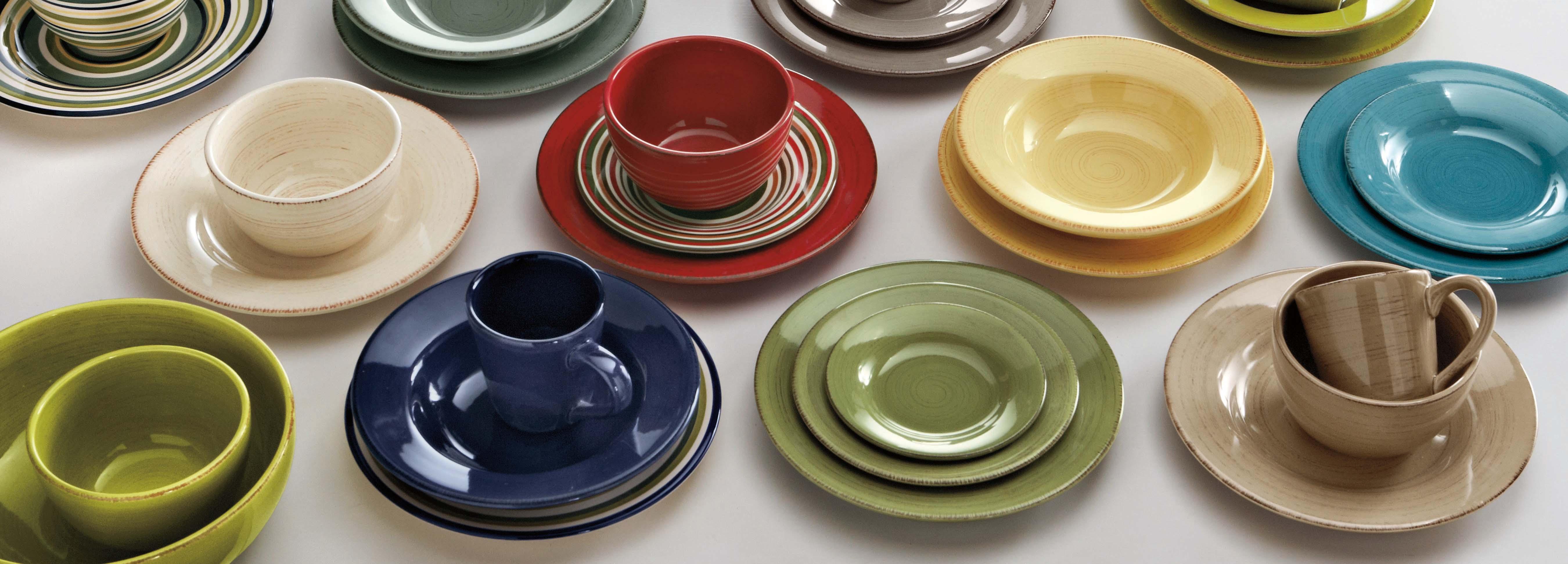 View larger & Amazon.com | tag - Sonoma 16-Piece Ironstone Ceramic Dinner Set A ...