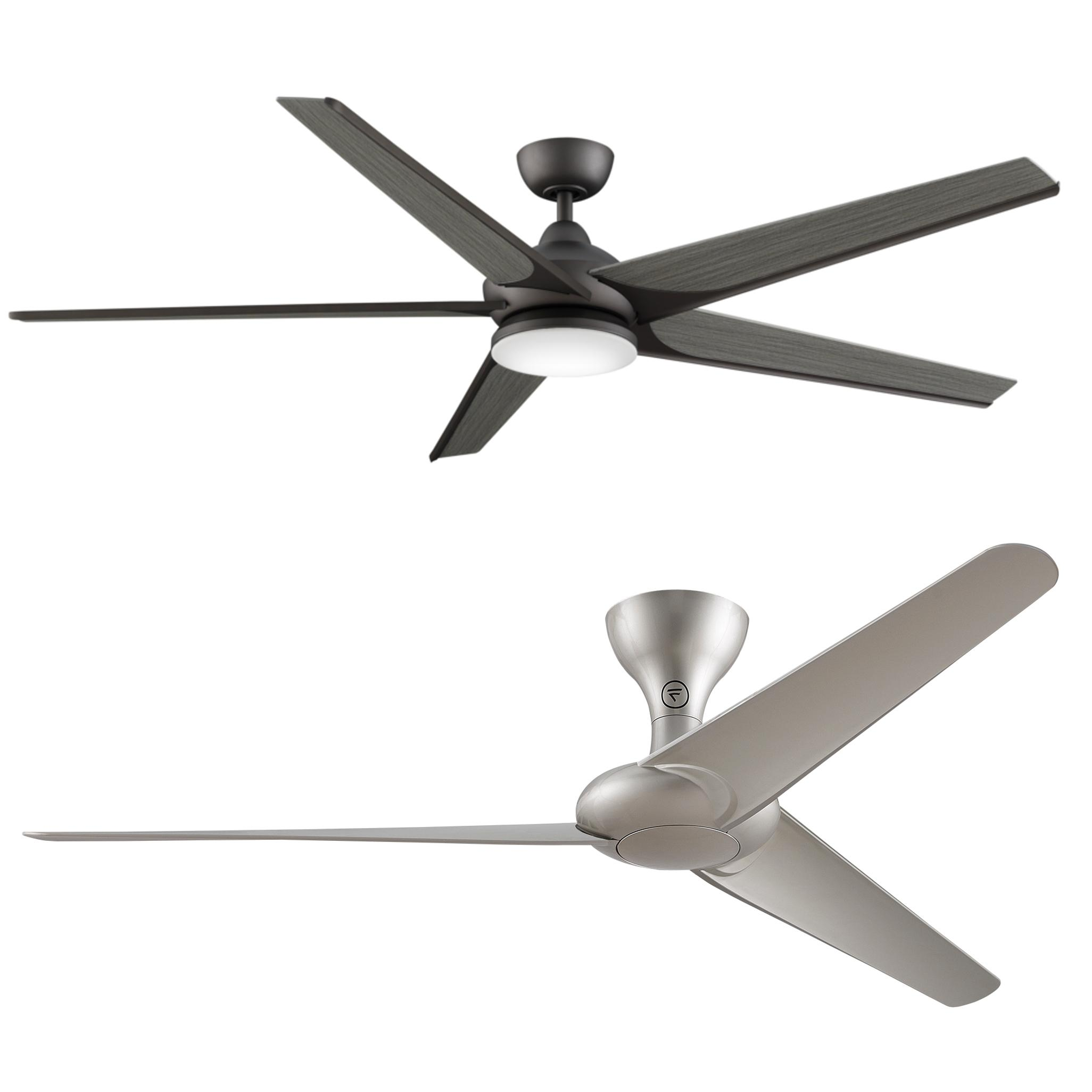 Fanimation FP7900MG Torto Ceiling Fan Metro Gray Finish