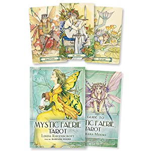 Tarot, tarot cards, tarot deck, Barbara moore, Barbara moore tarot, mystic faerie