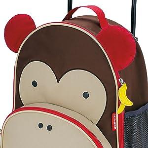 skip hop, luggage, kid luggage, toddler luggage