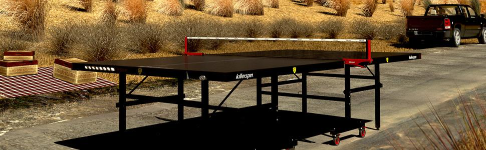 ping pong; table tennis; ping pong table; table tennis table; killerspin; best outdoor ping pong