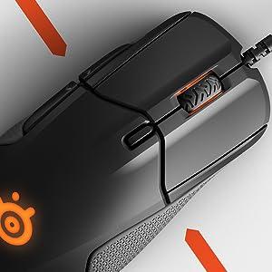 SteelSeries Rival 310 ratón para juegos óptico