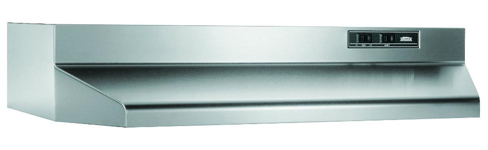 Amazoncom Broan 402404 Ada Capable Under Cabinet Range Hood 24