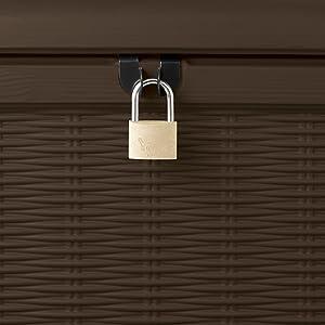 Lockable safe secure security dry