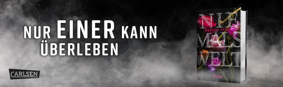 Niemalswelt, gefangen in der Niemalswelt, Thriller, Marisha Pessl, Carlsen Verlag