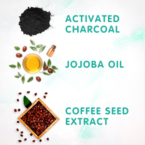 SoCozy Swim 3-in-1 ingredients Activated Charcoal Jojoba oil coffee seed extract removes chlorine