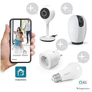 Avidsen 127007 Smart Leuchtmittel Alexa Und Google Kompatibel Weiß Baumarkt