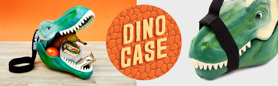 Suck UK Dinosaur lunchbox and carry case