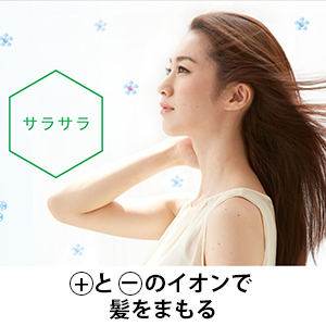 プラズマクラスタードライヤー サラサラ 静電気抑制 髪をまもる IB-JP9