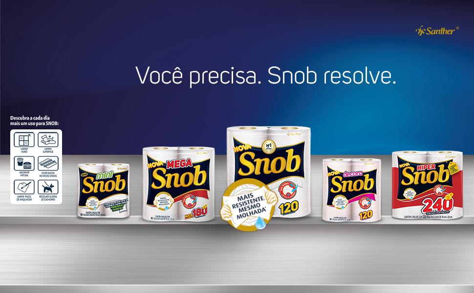 Snob Toalha Papel 2 rolos