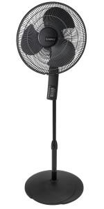 Lasko 2521 Oscillating Stand Fan 16 Inch Black Amazon Ca Home Kitchen