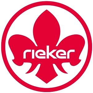 Rieker shoes logo.