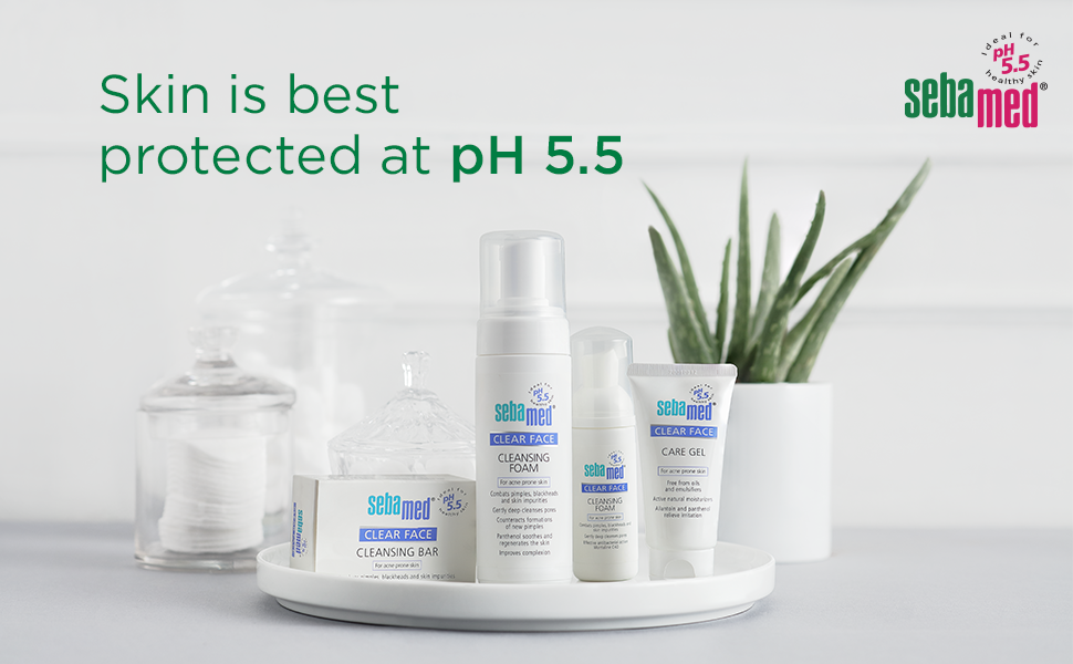 Skin is best protected at pH 5.5